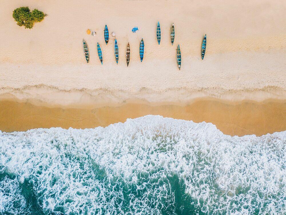 Photographie Tannirbhavi Beach - Javi Lorbada - Tableau photo