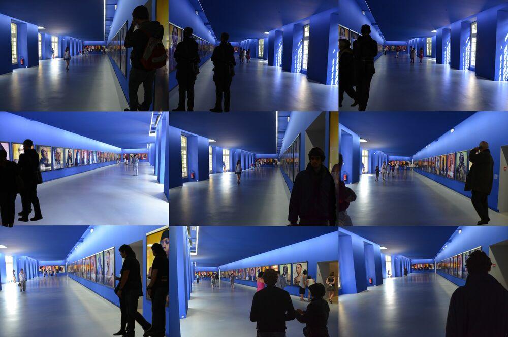 Fotografia Bleu Avignon - JEAN-PAUL ESPAIGNET - Pittura di immagini