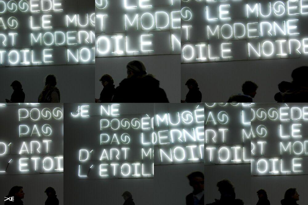 Photograph Musée d'Art Moderne - JEAN-PAUL ESPAIGNET - Picture painting