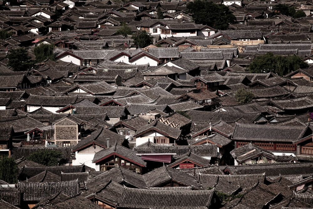 Fotografia ROOFS SHELTER THE HERITAGES - JEFF KWOK - Pittura di immagini