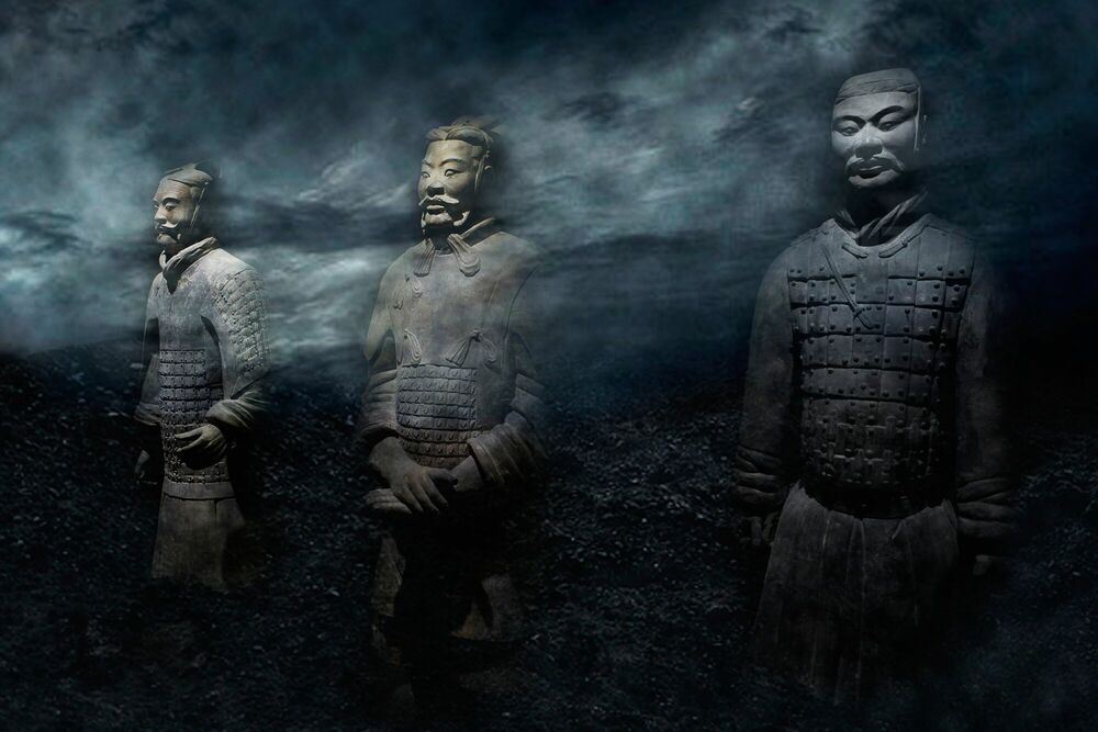 Photograph TERRACOTTA WARRIORS - JEFF KWOK - Picture painting