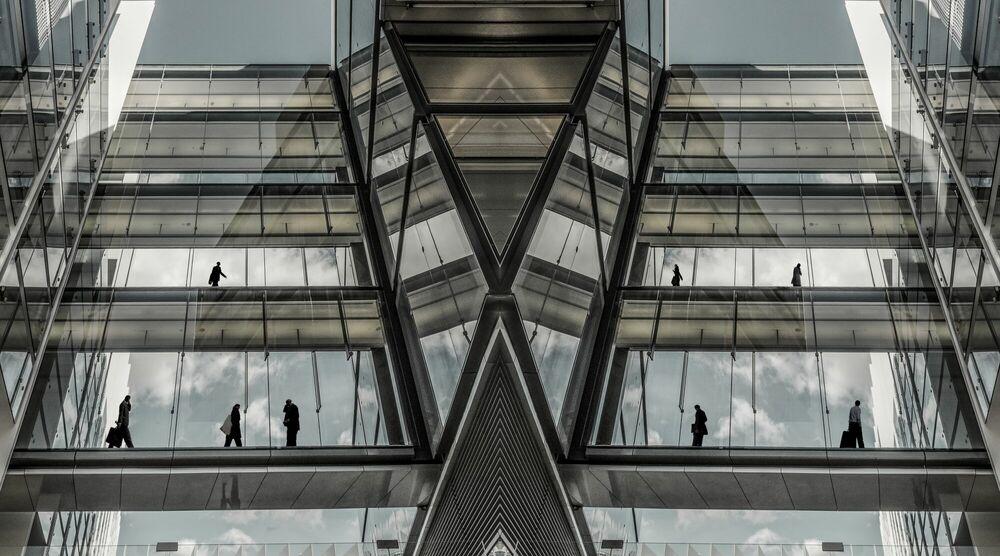 Fotografia FUTURE OFFICE CITIES - JESUS CHAMIZO - Pittura di immagini