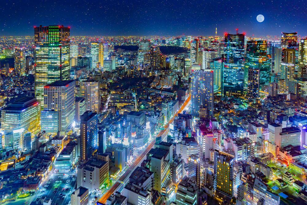 Fotografie UNDER THE UNIVERSE TOKYO ROPPONGI - JIN TAMAOKI - Bildermalerei