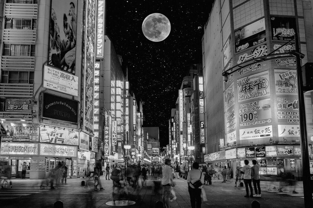 Photographie UNDER THE UNIVERSE TOKYO SHINJUKU - JIN TAMAOKI - Tableau photo