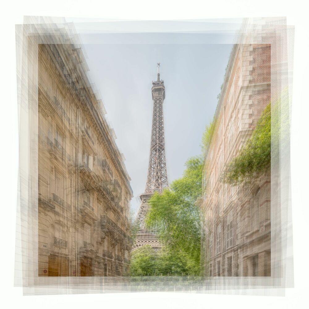 Fotografía LA TOUR EIFFEL - JOHN KOSMOPOULOS - Cuadro de pintura