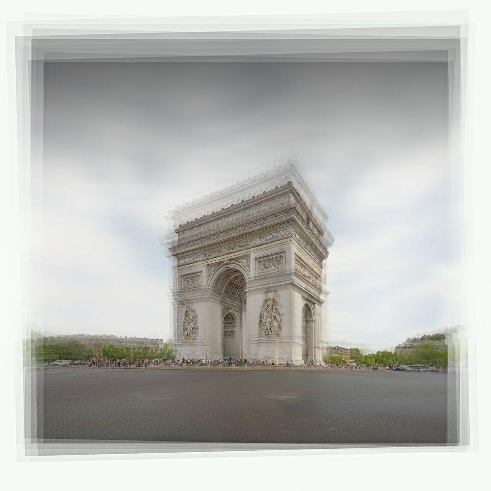 Fotografia PLACE DE L ETOILE - JOHN KOSMOPOULOS - Pittura di immagini
