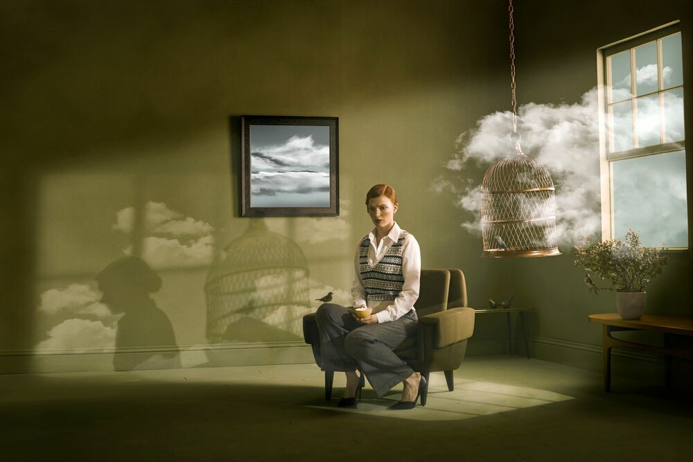 Photograph CLOUDED JUDGEMENTS 005 - JOHN WRIGHT - Picture painting