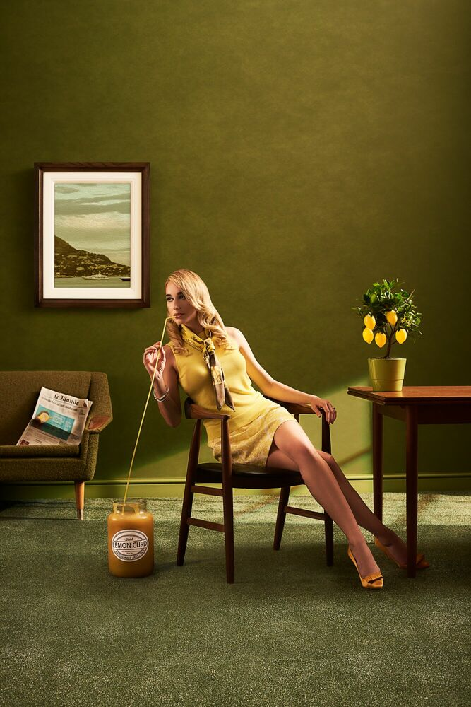 Kunstfoto WHEN LIFE GIVES YOU LEMONS - JOHN WRIGHT - Foto schilderij