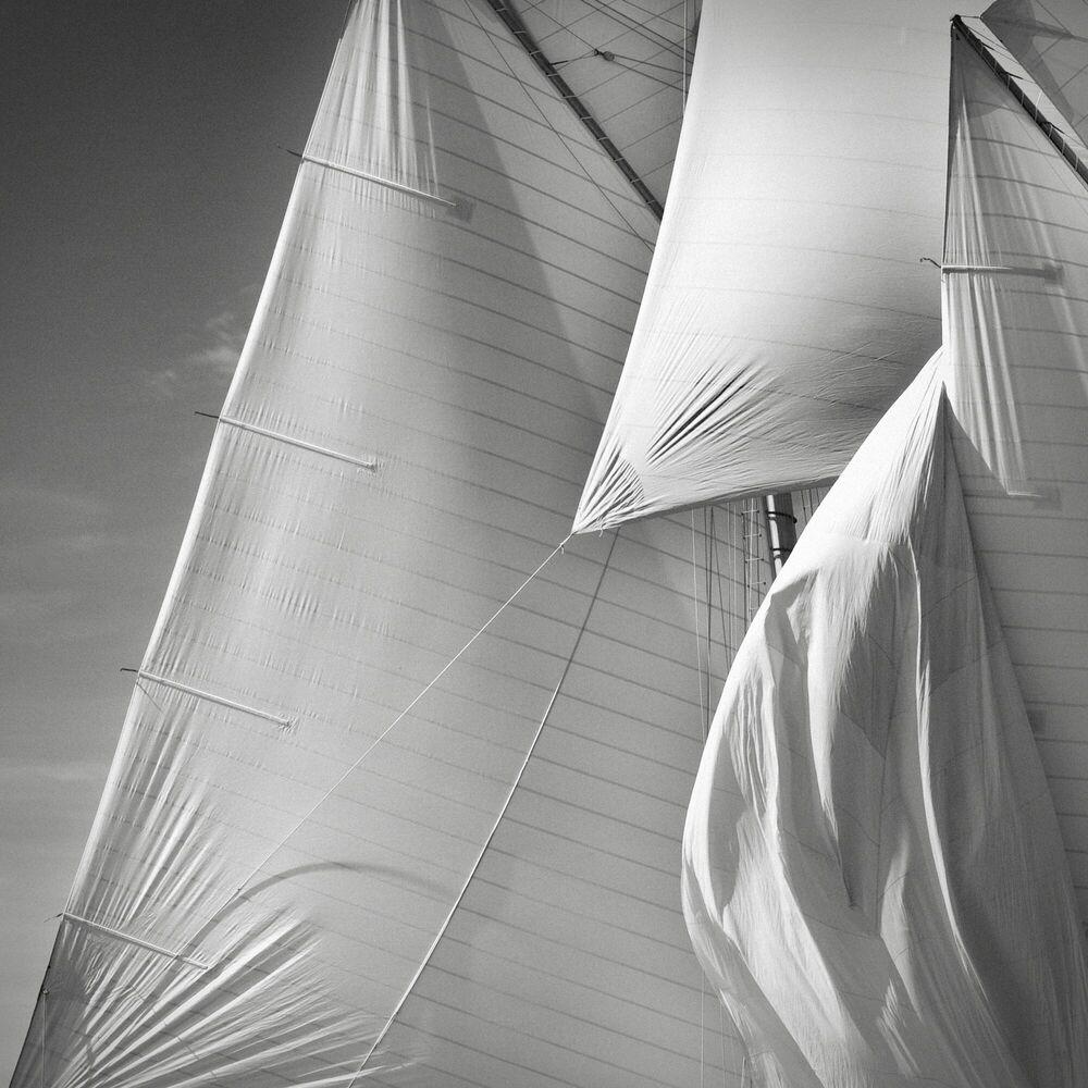 Fotografie Sails of the Mariette study 5 - JONATHAN CHRITCHLEY - Bildermalerei