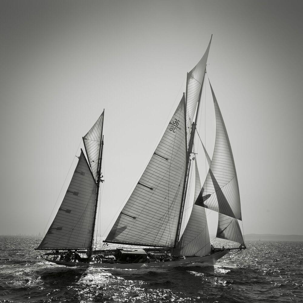 Kunstfoto Thendara, Saint-Tropez - JONATHAN CHRITCHLEY - Foto schilderij