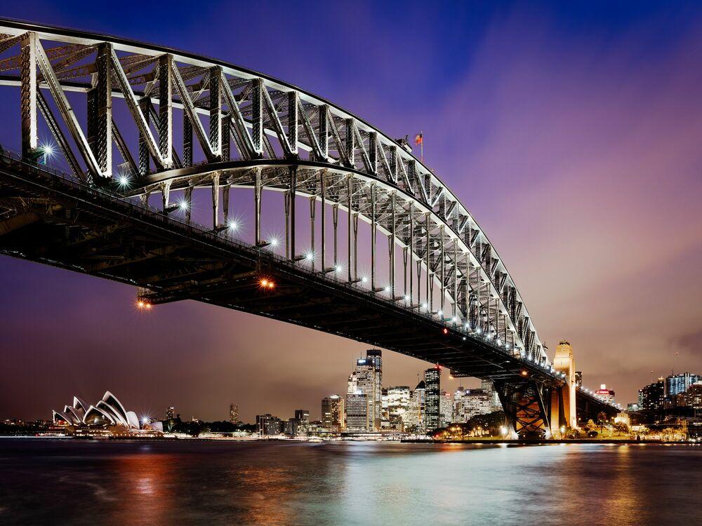 Fotografie Harbour Bridge III - Jörg DICKMANN - Bildermalerei