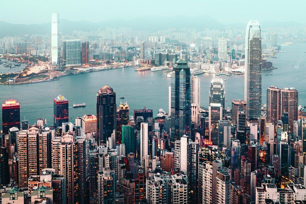 Fotografie HONG KONG CITYSCAPE II - Jörg DICKMANN - Bildermalerei