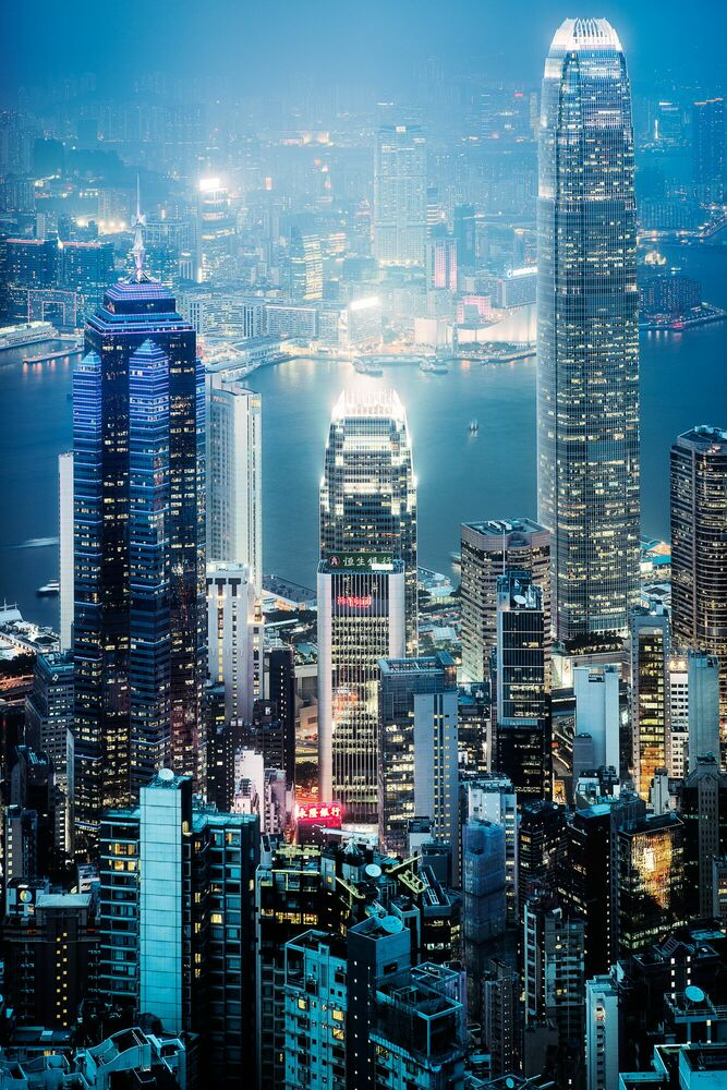 Photograph HONG KONG HIGHRISE - Jörg DICKMANN - Picture painting