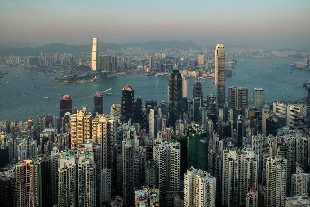 Photograph Hong Kong III - Jörg DICKMANN - Picture painting