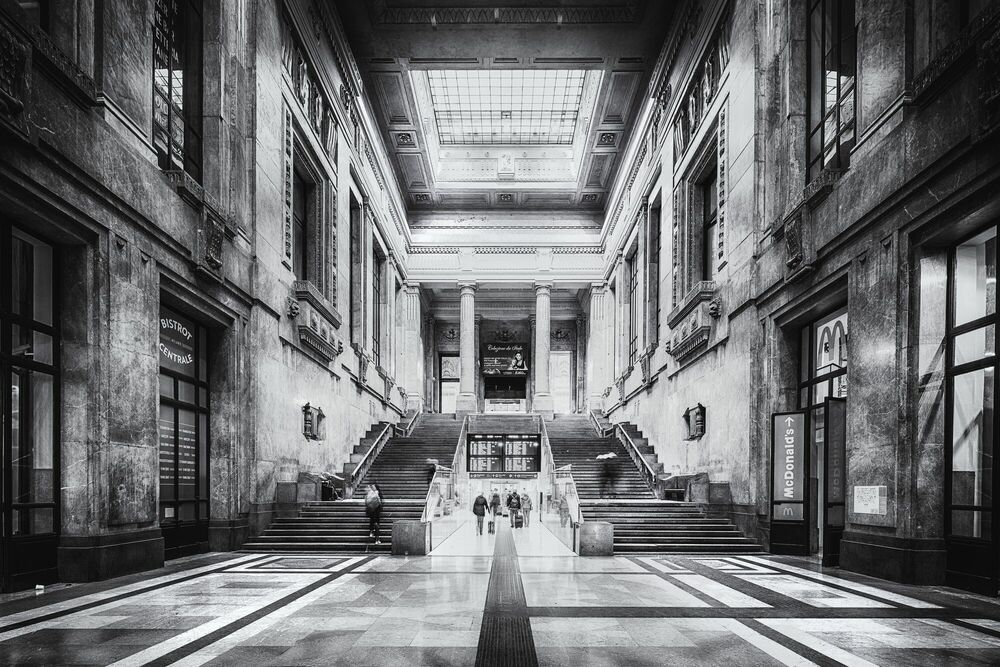 Photograph Milano Centrale - Jörg DICKMANN - Picture painting