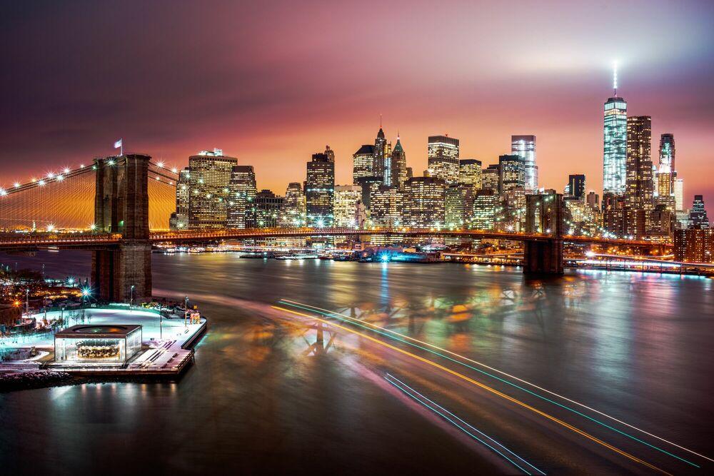 Fotografia New York Skyline - Jörg DICKMANN - Pittura di immagini
