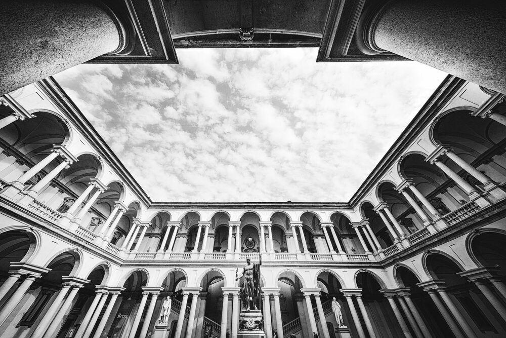 Photograph Palazzo di Brera - Jörg DICKMANN - Picture painting