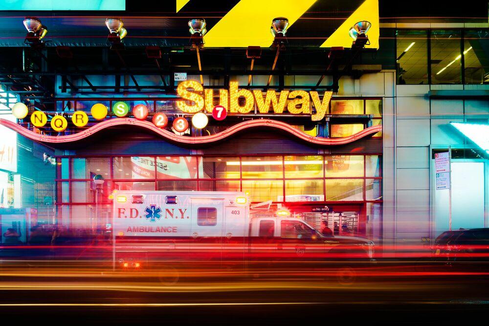 Fotografia Subway - Jörg DICKMANN - Pittura di immagini