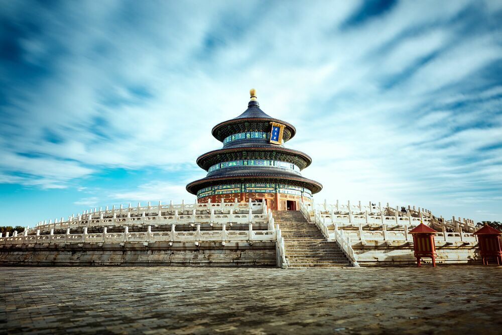 Photograph TEMPLE OF HEAVEN II - Jörg DICKMANN - Picture painting