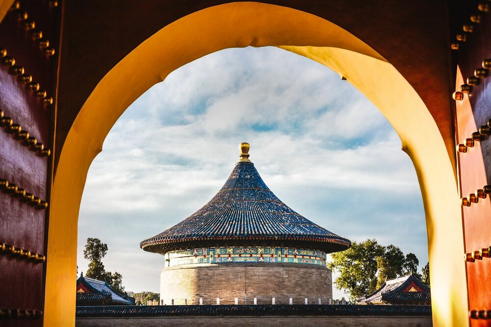 Photograph TEMPLE OF HEAVEN III - Jörg DICKMANN - Picture painting