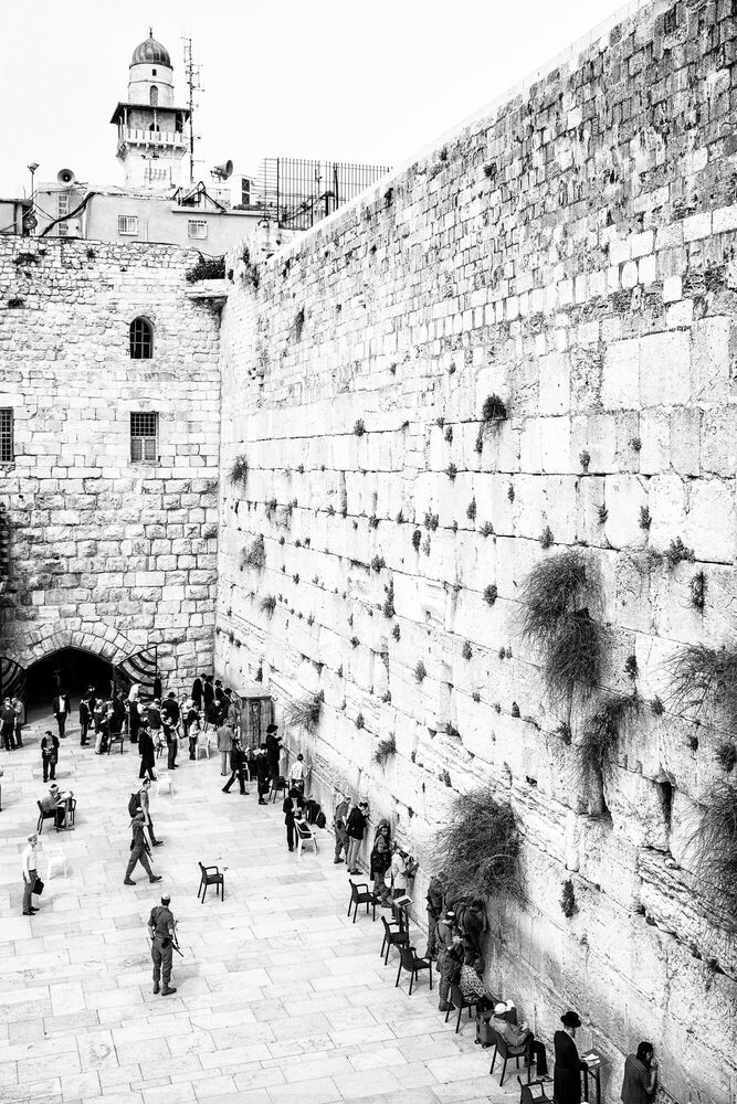 Photograph THE WESTERN WALL II - Jörg DICKMANN - Picture painting