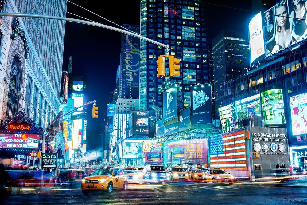 Photographie Times Square III - Jörg DICKMANN - Tableau photo