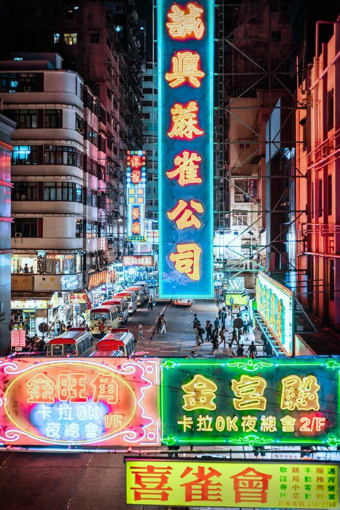 Fotografia TUNG CHOI STREET III - Jörg DICKMANN - Pittura di immagini