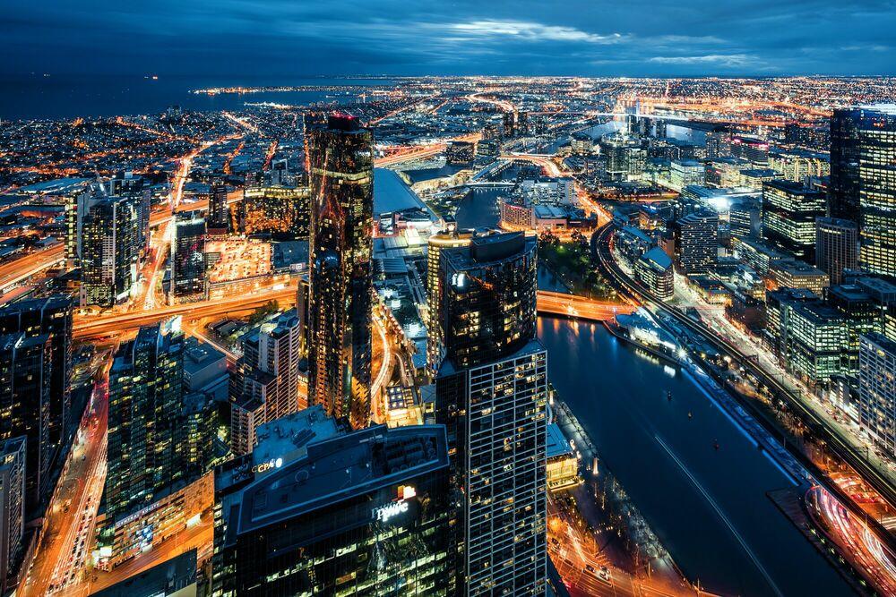 Fotografia Veins of Melbourne II - Jörg DICKMANN - Pittura di immagini