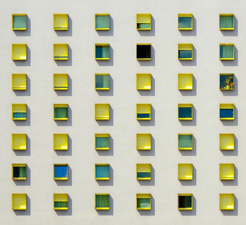 Fotografie HAPPY WINDOWS - JOSE-ANTOINE COSTA - Bildermalerei