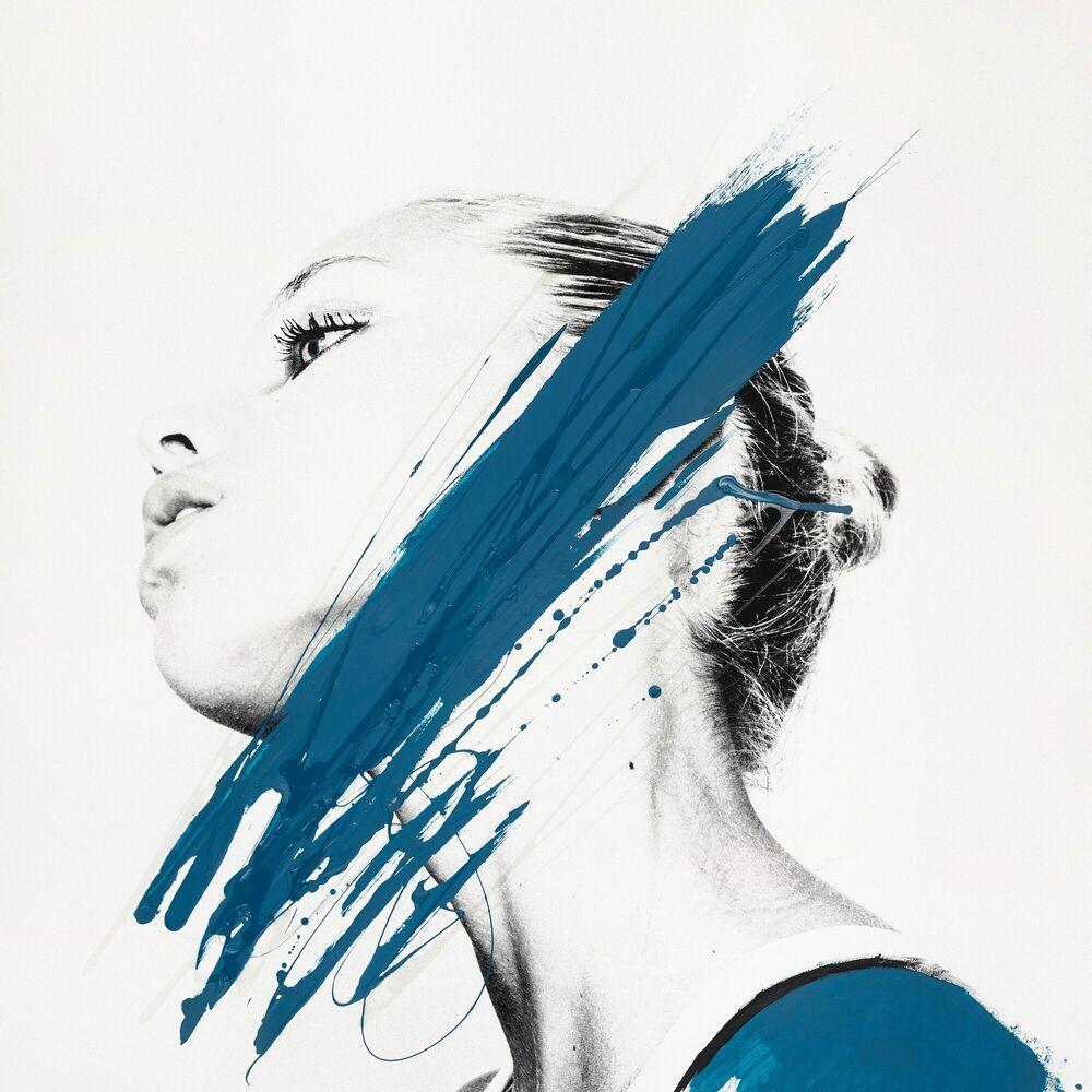 Fotografie Le portrait paon -  JU x K - Bildermalerei