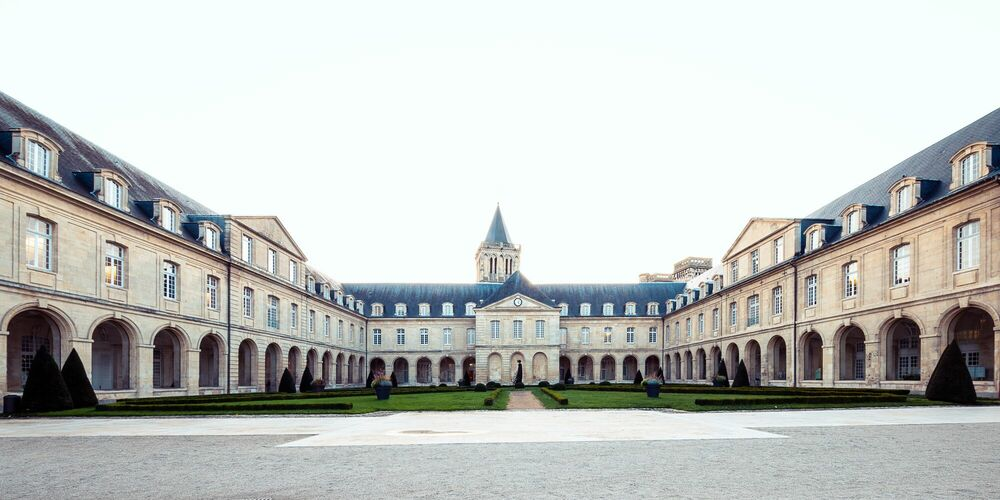 Photograph ABBAYE AUX DAMES II - JULES VALENTIN - Picture painting