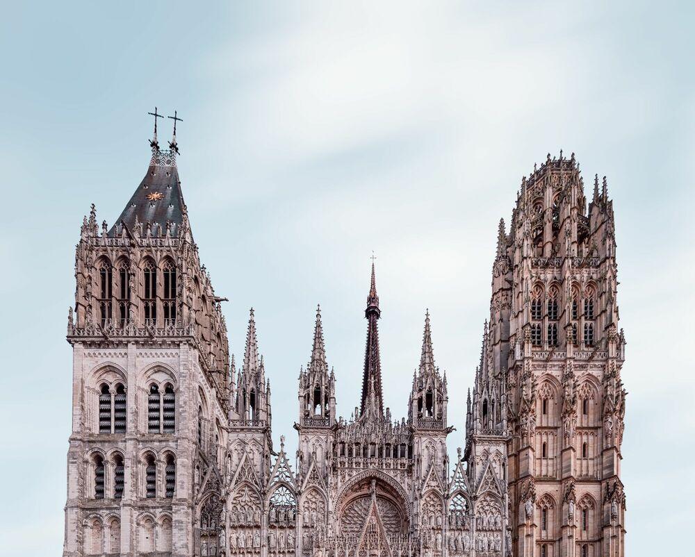Photograph Cathedrale Notre Dame de Rouen - JULES VALENTIN - Picture painting