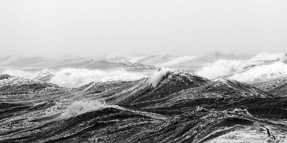 Photographie VAGUES OCEANES VI - JULES VALENTIN - Tableau photo