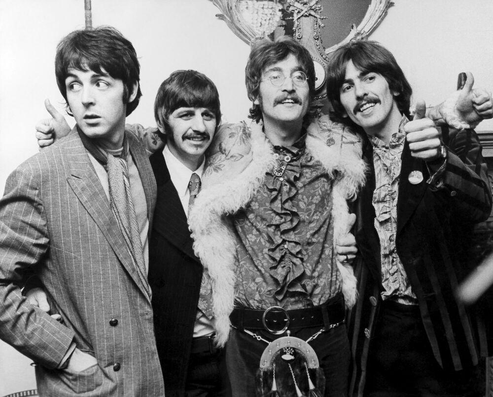 Photographie Beatles -  KEYSTONE AGENCY - Tableau photo