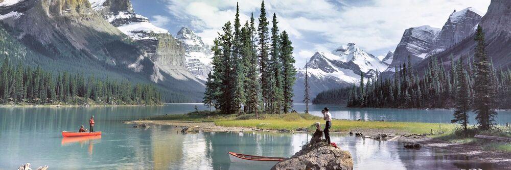 Fotografie MALIGNE LAKE 1960 - KODAK COLORAMA DISPLAY COLLECTION - PETER GALES - Bildermalerei