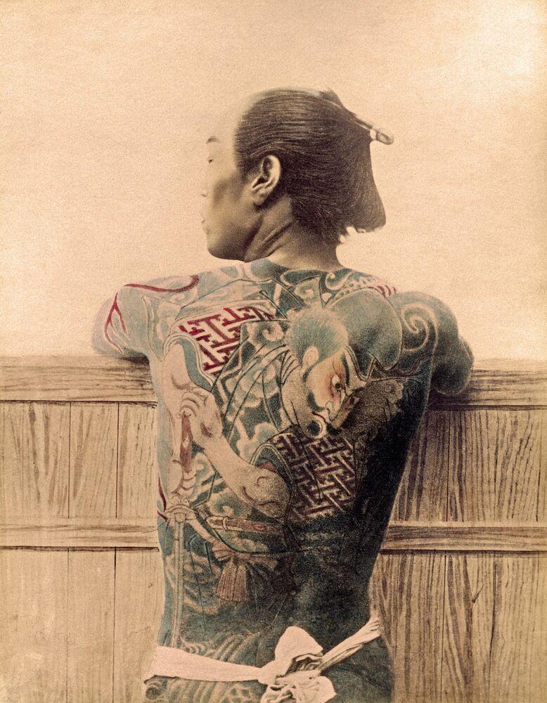 Photograph PAYSAN TATOUÉ - KUSAKABE KIMBEI - Picture painting