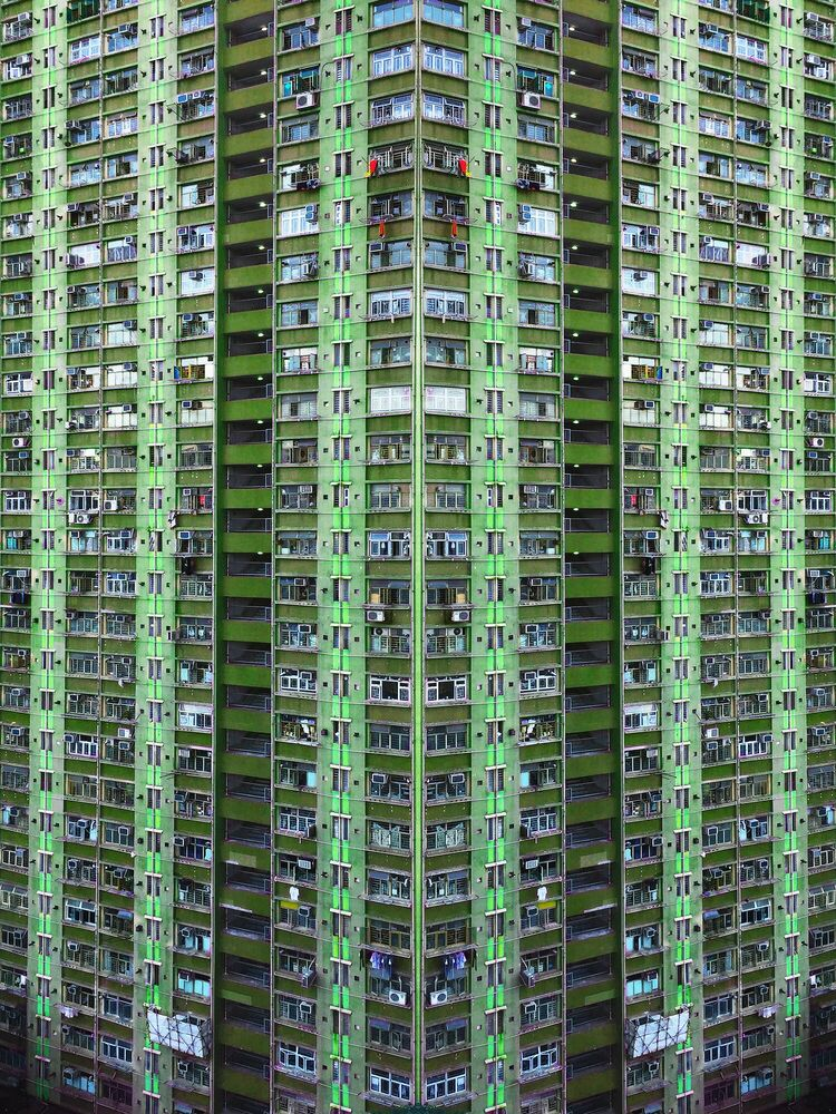 Fotografia GREEN - KYLE YU - Pittura di immagini
