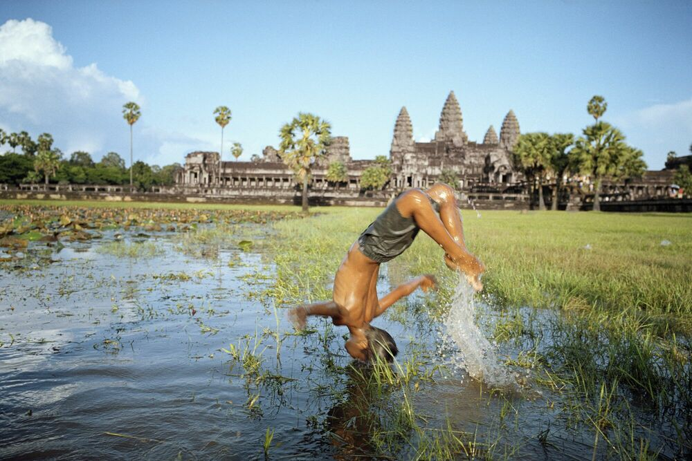 Photographie Cambodge Angkor - LAM DUC  HIEN - Tableau photo