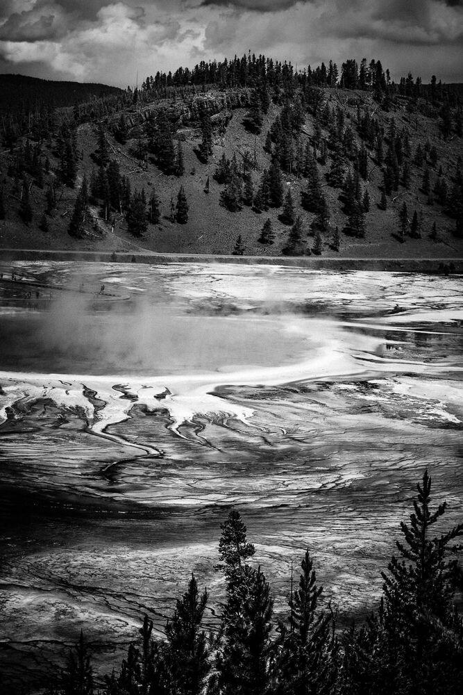 Photographie Grand Prismatic Yellowstone - LAURENT BAHEUX - Tableau photo