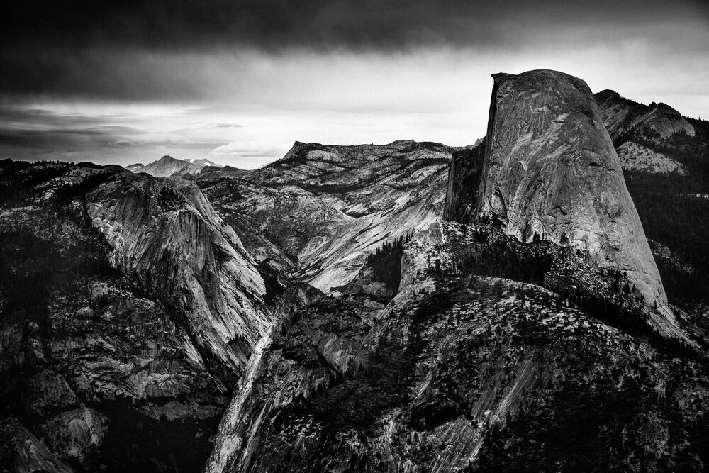 Photograph HALF DOME III, YOSEMITE - LAURENT BAHEUX - Picture painting