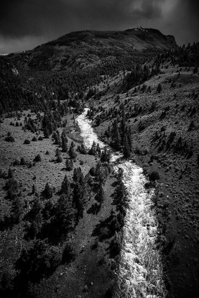 Photographie Lamar River Yellowstone - LAURENT BAHEUX - Tableau photo