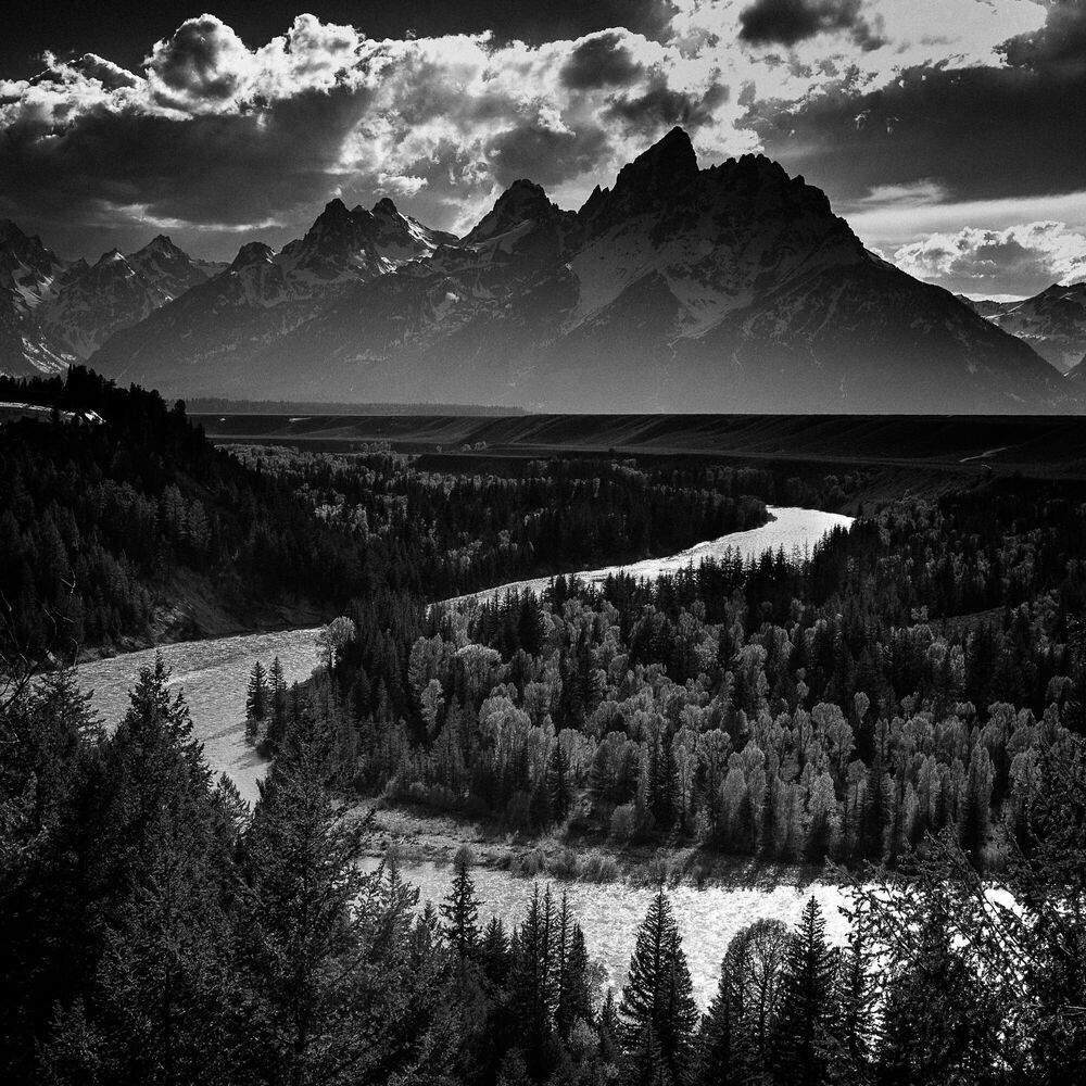 Fotografia Snake River Grand Teton - LAURENT BAHEUX - Pittura di immagini