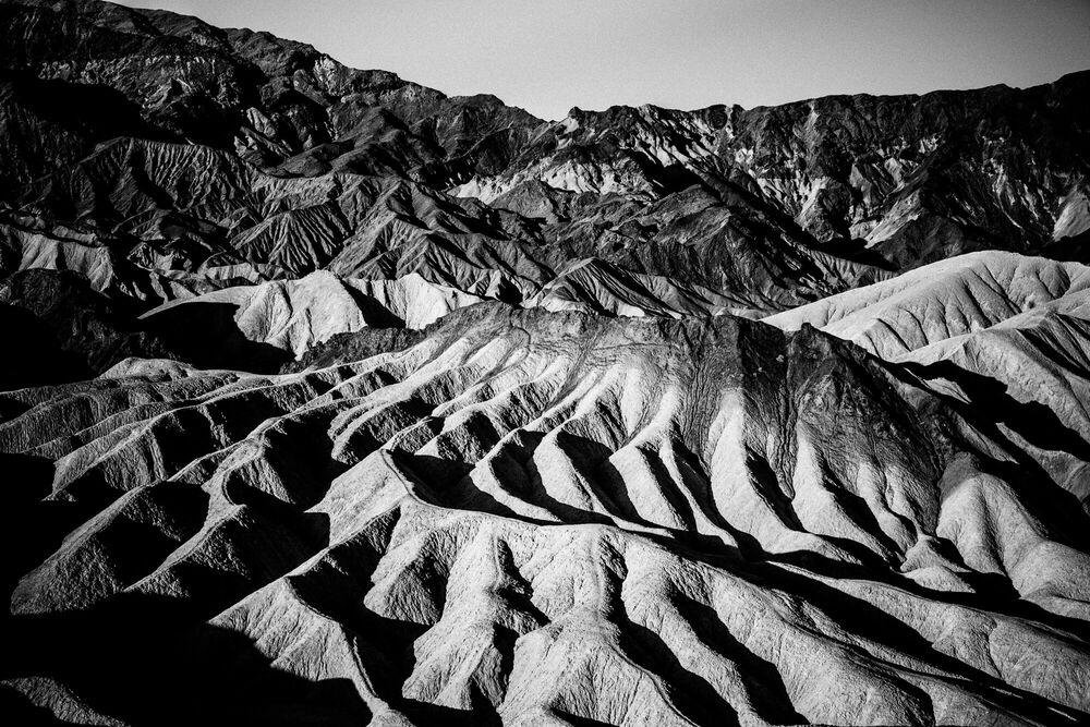 Photograph Zabriskie Point Death Valley - LAURENT BAHEUX - Picture painting