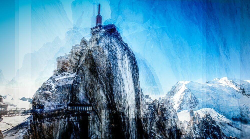 Photographie Aiguille du Midi I - LAURENT DEQUICK - Tableau photo