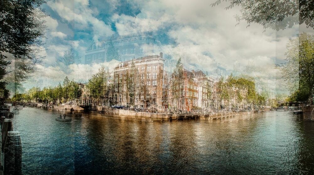 Photograph AMSTERDAM - HERENGRACHT - LAURENT DEQUICK - Picture painting