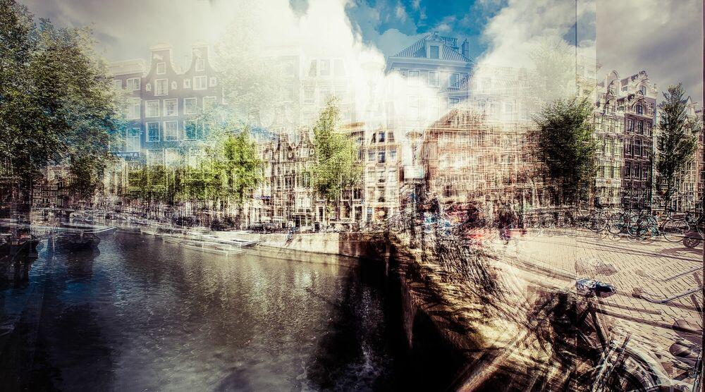 Photograph AMSTERDAM - KORTE NIEZEL - LAURENT DEQUICK - Picture painting