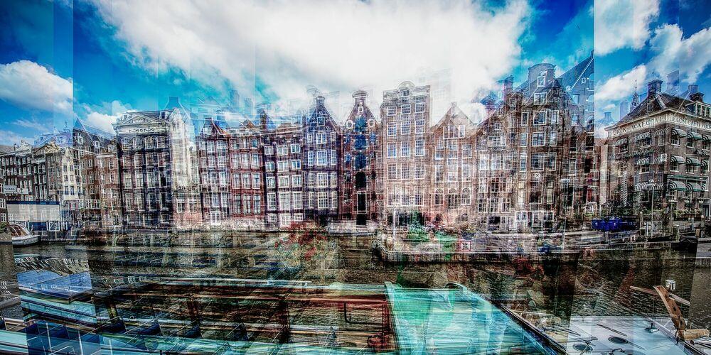 Photograph AMSTERDAM - REDERIJ PLAS I - LAURENT DEQUICK - Picture painting