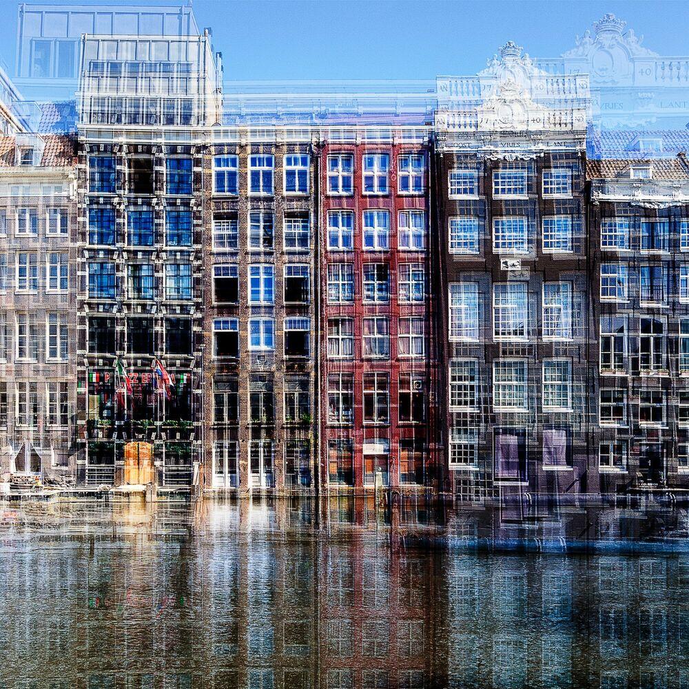 Photograph AMSTERDAM - REDERIJ PLAS II - LAURENT DEQUICK - Picture painting