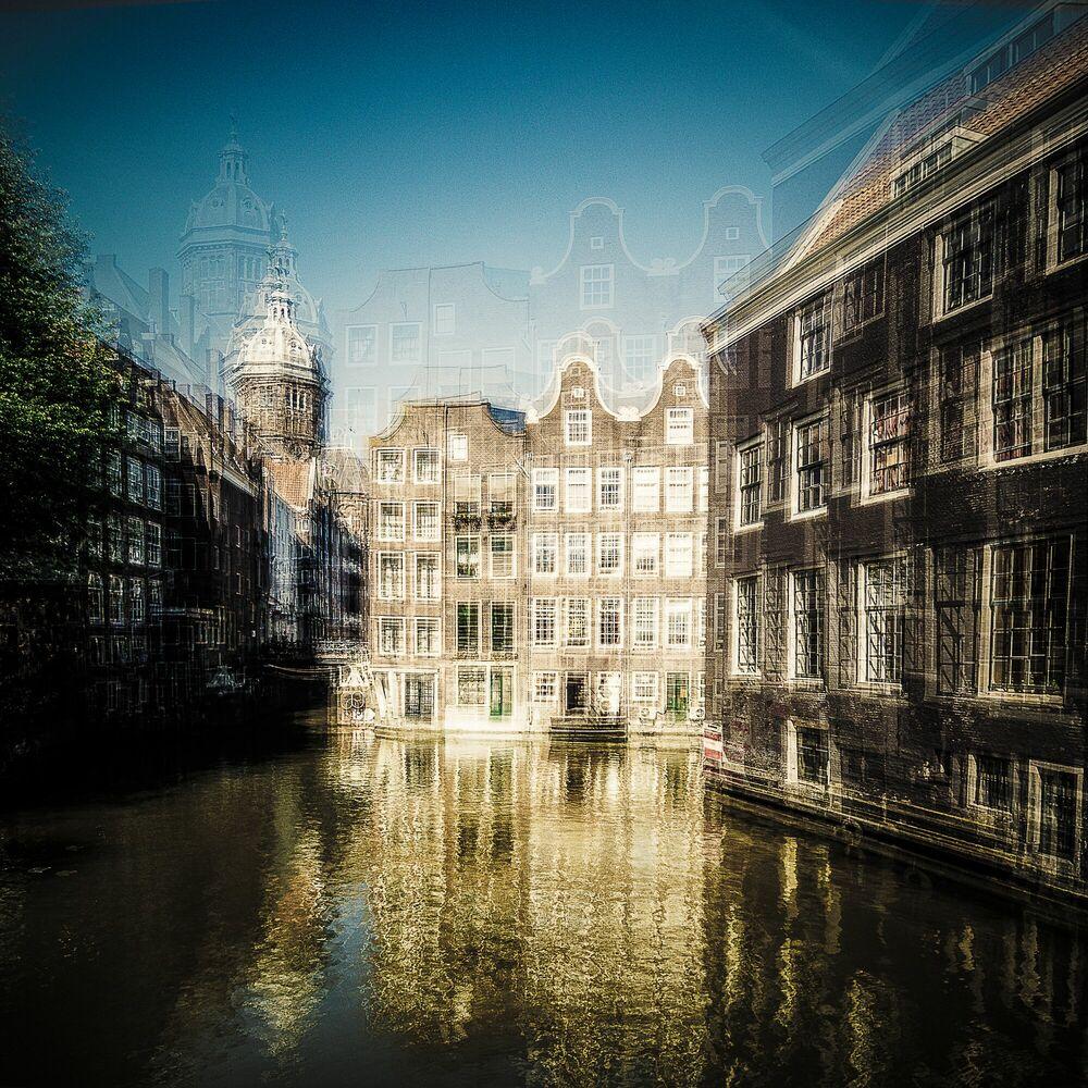Photograph AMSTERDAM - VAN ARMBRUG - LAURENT DEQUICK - Picture painting