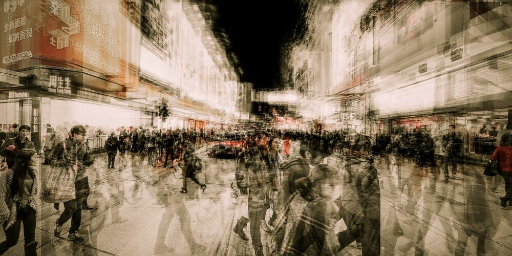 Fotografie Argyle St - LAURENT DEQUICK - Bildermalerei
